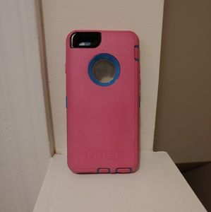 OtterBox Defender for iPhone 6s & 6 Pink & Blue
